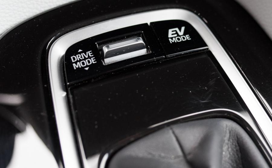 Tryby Eco, Normal i Sport mają wpływ na układ napędowy oraz siłę wspomagania kierownicy
