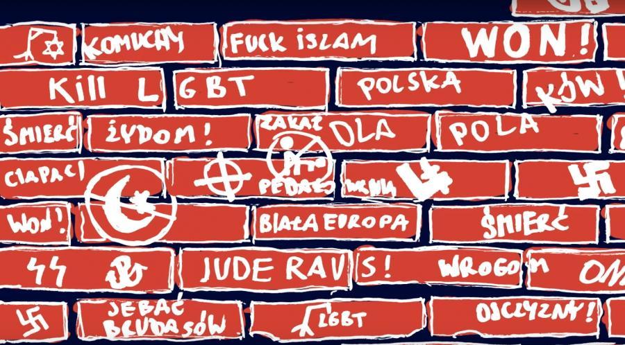 """Kadr z teledysk Big Cyc """"Polska podzielona"""""""