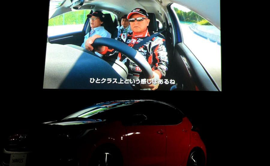 Nowego Yarisa testował sam prezydent japońskiej marki Akido Toyoda