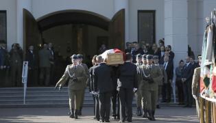 Uroczystości pogrzebowe byłego ministra środowiska i wieloletniego posła - prof. Jana Szyszko