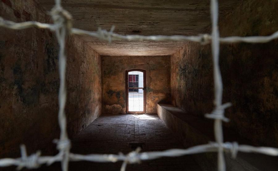 Teren byłego obozu koncentracyjnego KL Stutthof