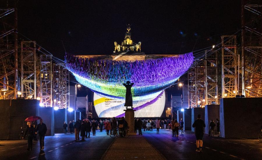 Obchody rocznicy obalenia berlińskiego muru