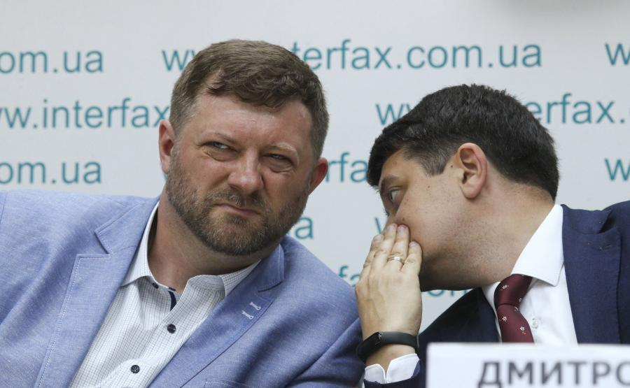 Ołeksandr Kornijenko i Dmytr Razumkow