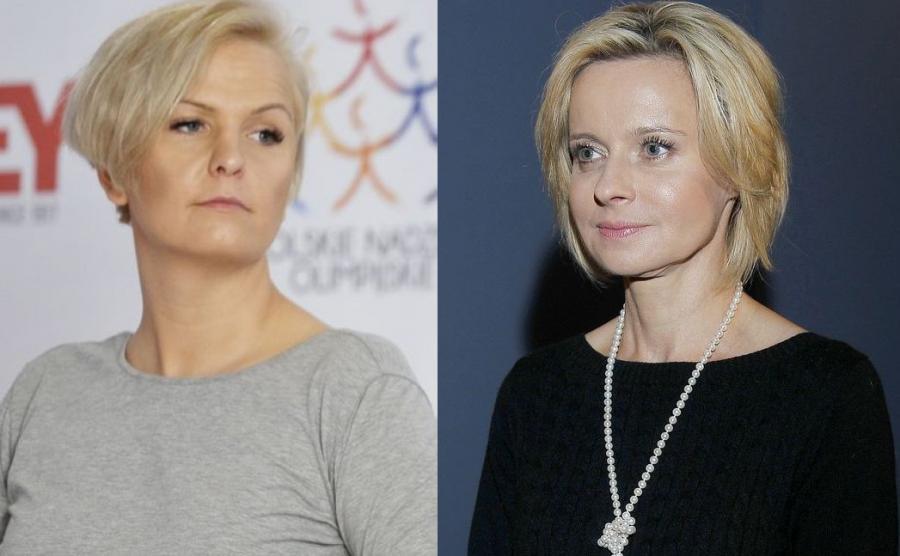 Otylia Jędrzejczak, Jolanta Pieńkowska