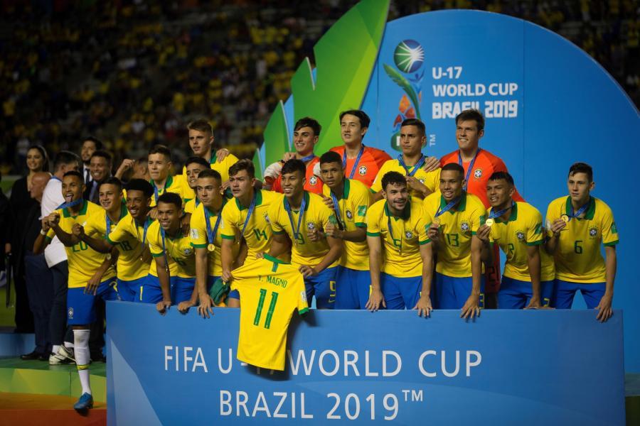 Reprezentacja Brazylii do lat 17