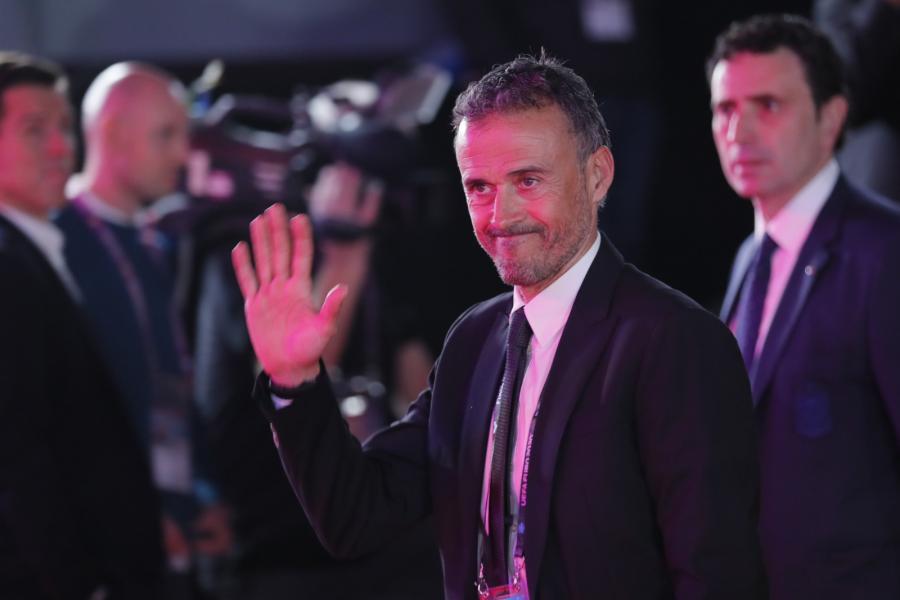 Luis Enrique, selekcjoner reprezentacji Hiszpanii