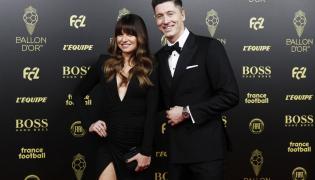 Gala Złotej Piłki. Anna i Robert Lewandowscy