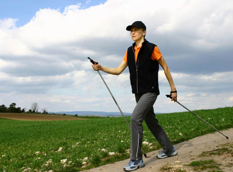 Nordic walking to jest to!