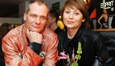 Piotr Zelt z żoną