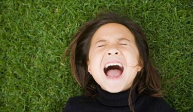 Young Girl Screaming --- Image by © Scott Stulberg/Corbis