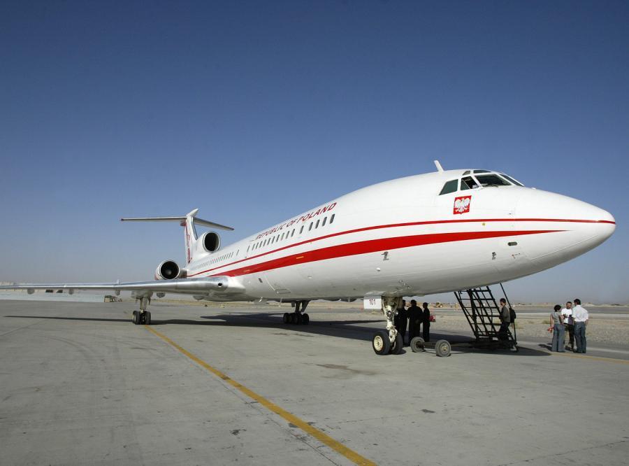 VIP-y nie mają czym latać, bo oba rządowe Tu-154 są popsute