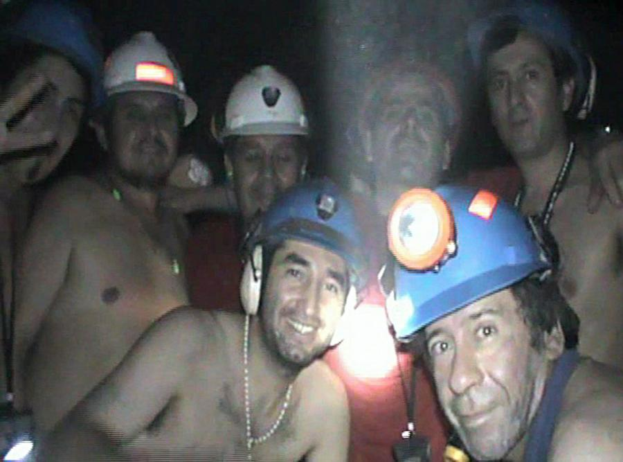 Chilijscy górnicy \