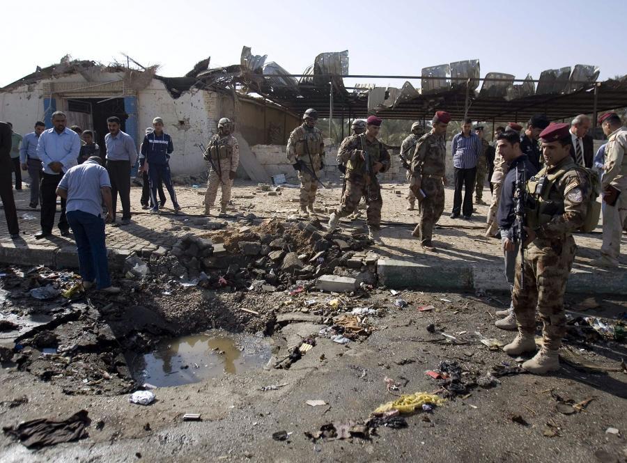 Mimo wygaśnięcia wojny domowej w Iraku, regularnie dochodzitam do ataków terrorystycznych