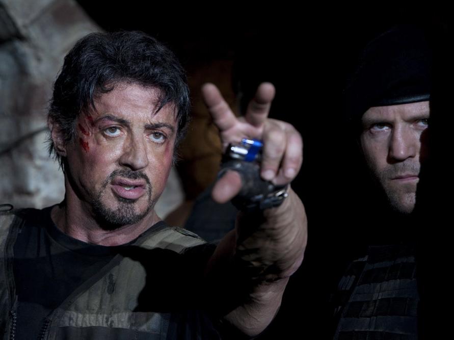 Trochę Rambo, trochę Rocky, niezniszczalny Stallone