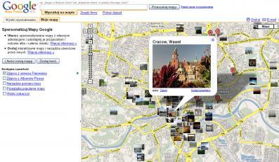 Google maps ma polską wersję