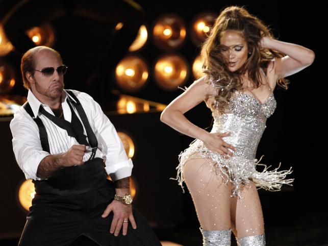 Wspólne show Toma Cruise'a i Jennifer Lopez podczas gali MTV Movie Awards (6 czerwca 2010)