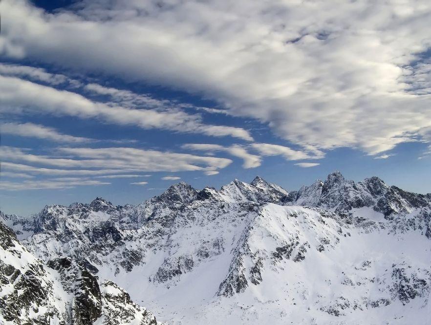 W Tatrach ogłoszono pierszy stopień zagrożenia lawinowego