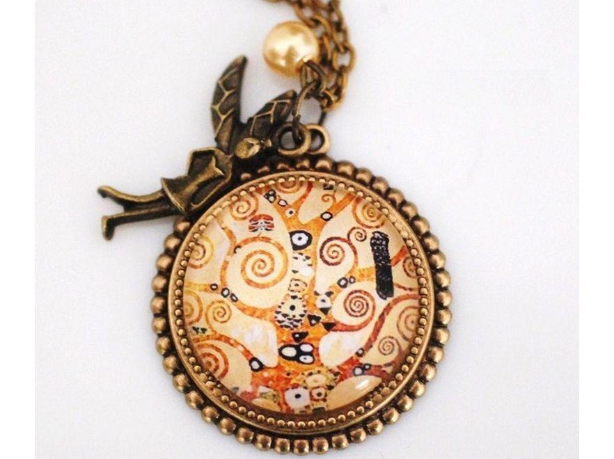 Nosić na sercu samego Klimta... Madam Lili Designs