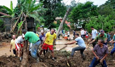 Tak żywioł niszczy Brazylię