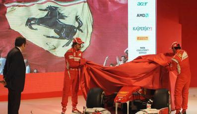 Ferrari jako pierwsze wśród teamów F1 oficjalnie przedstawiło nowy bolid na sezon 2011. Samochód otrzymał oznaczenie F150