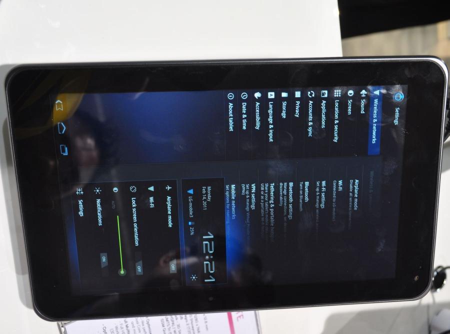 LG Tab, czyli trójwymiarowy tablet