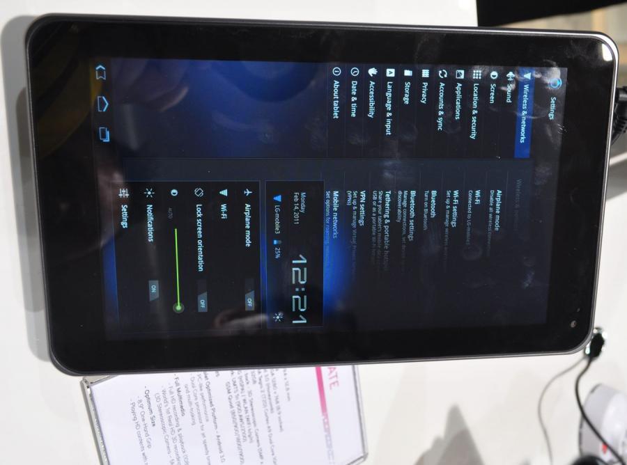 LG PAD, czyli nowy konkurent iPada