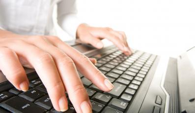 klawiatura komputer laptop