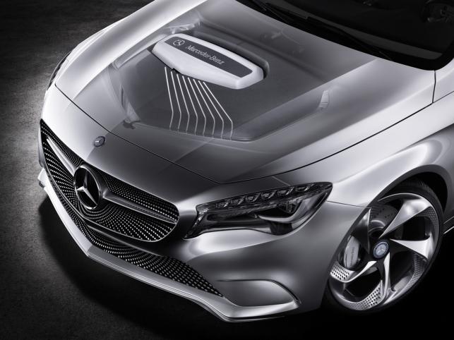 Mercedes Klasy A Concept to przedsmak nowej generacji kompaktowego auta z gwiazdą na masce