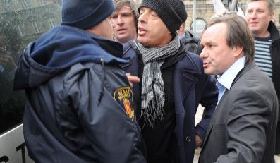"""Jan Pospieszalski broni namiotu """"Solidarnych 2010"""""""