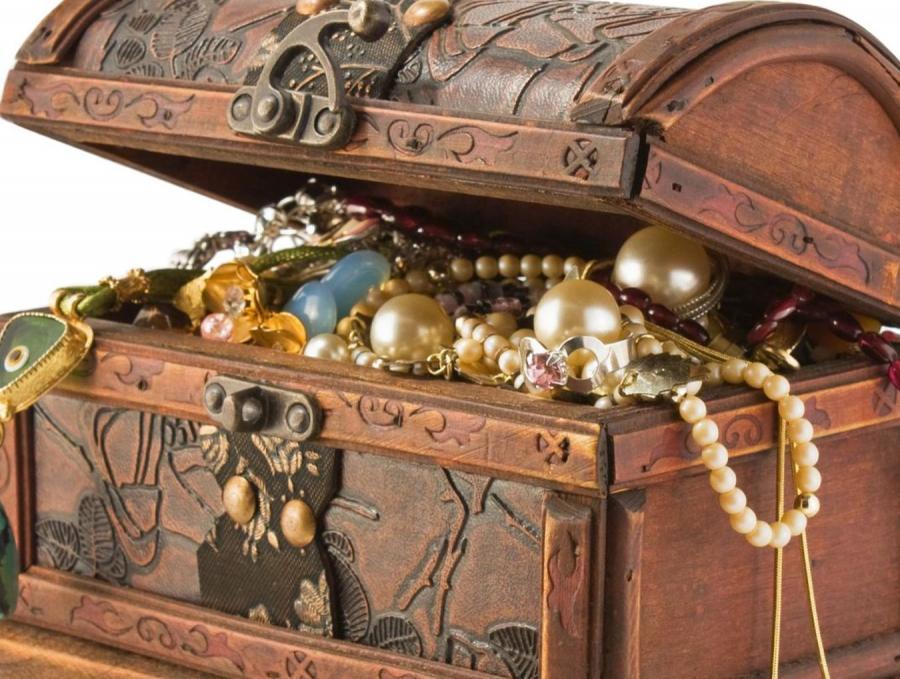 Szkatułka z biżuterią to prawdziwy skarb wielu kobiet.