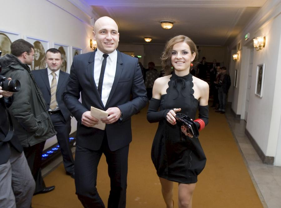 Maja Włoszczowska i jej przyszły mąż