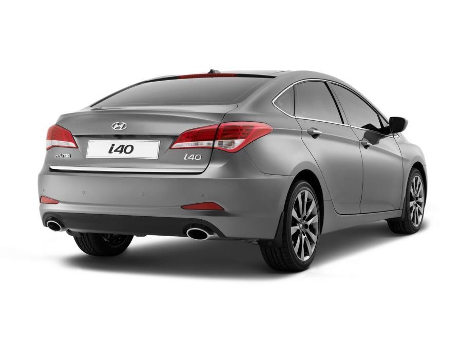 Hyundai i40 - sedan prosto z Barcelony