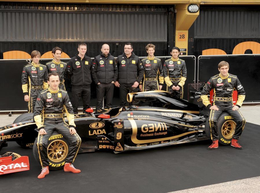 Team Lotus Renaul ma poważne problemy