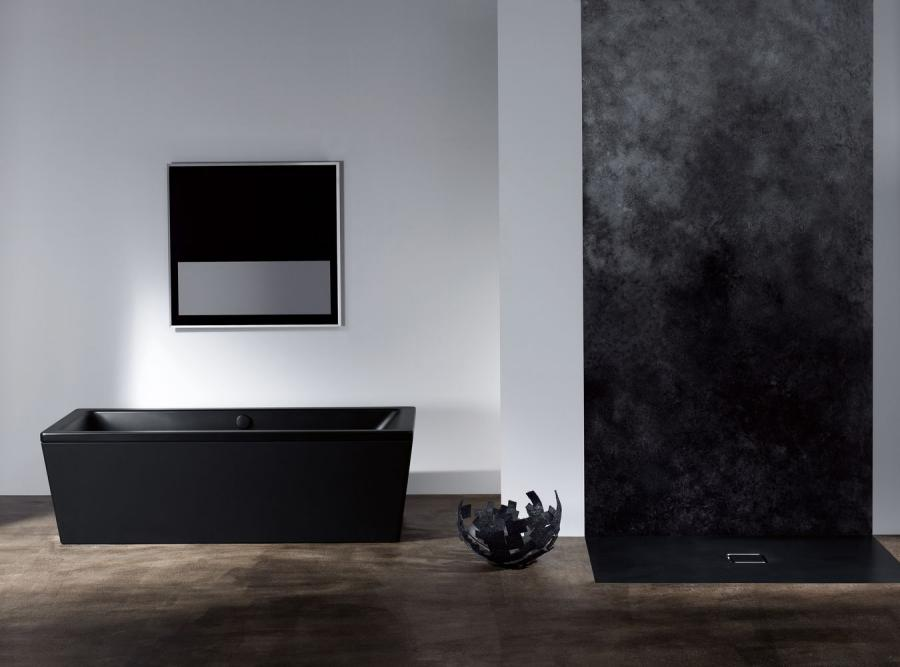 Czarna łazienka, nowy hit mody
