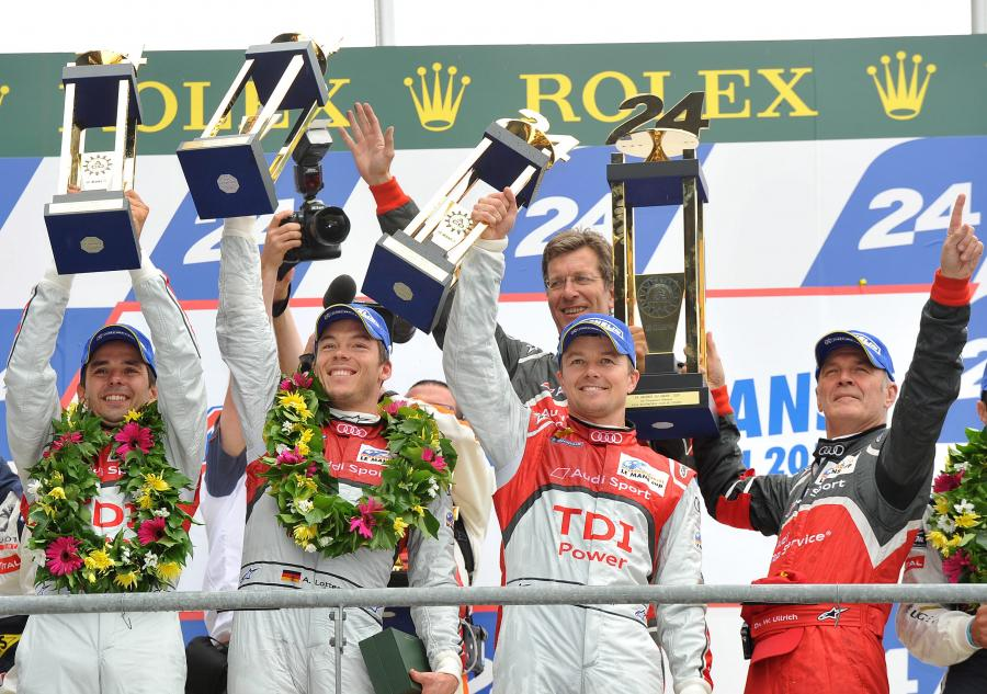 Le Mans - pierwsze Audi. Potem już tylko Peugeot