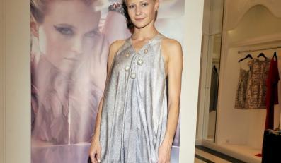 Ładnemu we wszystkim ładnie? Oryginalna sukienka Małgorzaty Kożuchowskiej.