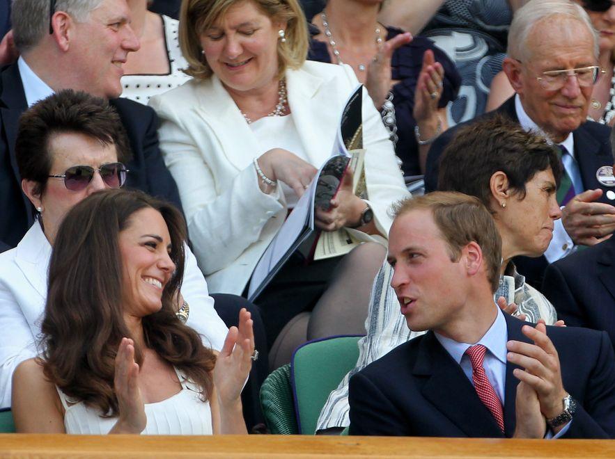 William i Catherine mieli najlepsze miejsca na widowni