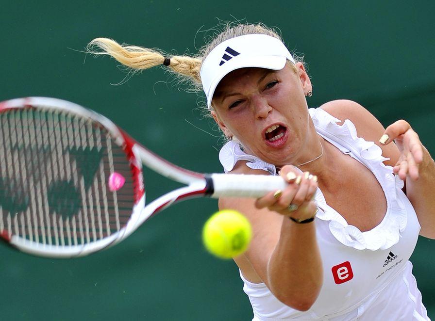 Karolina Woźniacka odpadła z Wimbledonu