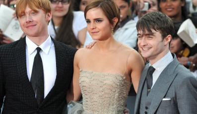 Rupert Grint, Emma Watson i Daniel Radcliffe