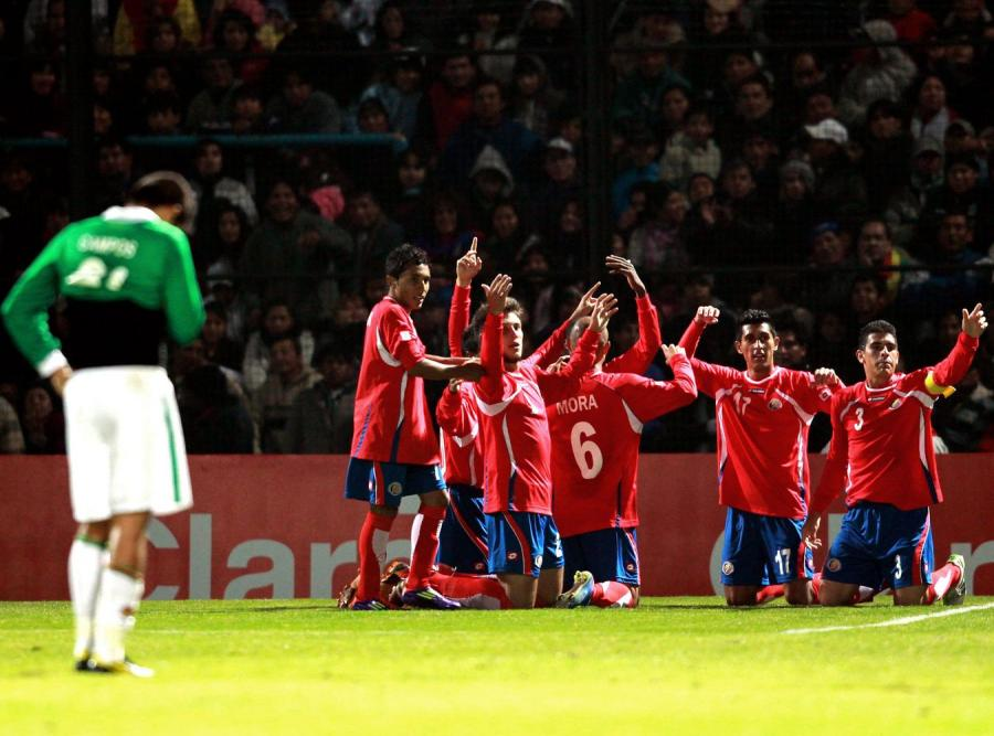 Kostaryka pokonała Boliwię