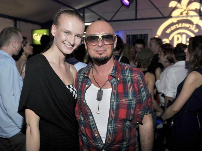 Tomasz Jacyków i Anna Piszczałka