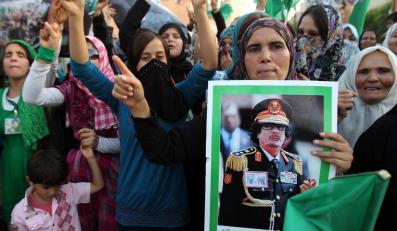 Kadafi: Nigdy nie będzie rozmów z powstańcami