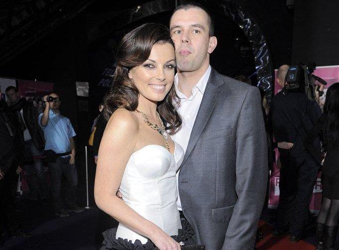 Kasia Glinka z mężem