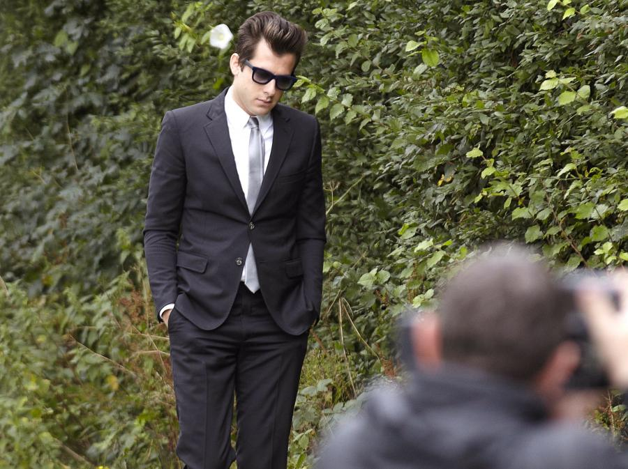 Mark Ronson po pogrzebie Amy Winehouse
