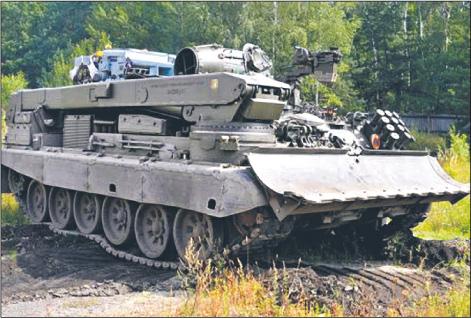 Eksportowy hit Bumaru – wóz zabezpieczenia technicznego WZT-4