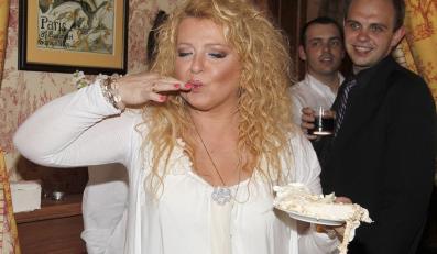 Magda Gessler bardzo lubi jeść chleb ze smalcem.