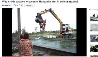 Oto węgierski sposób na zabawę w basenie