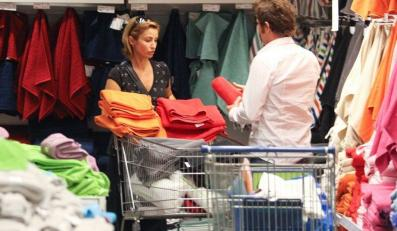 Joanna i Paweł na zakupach