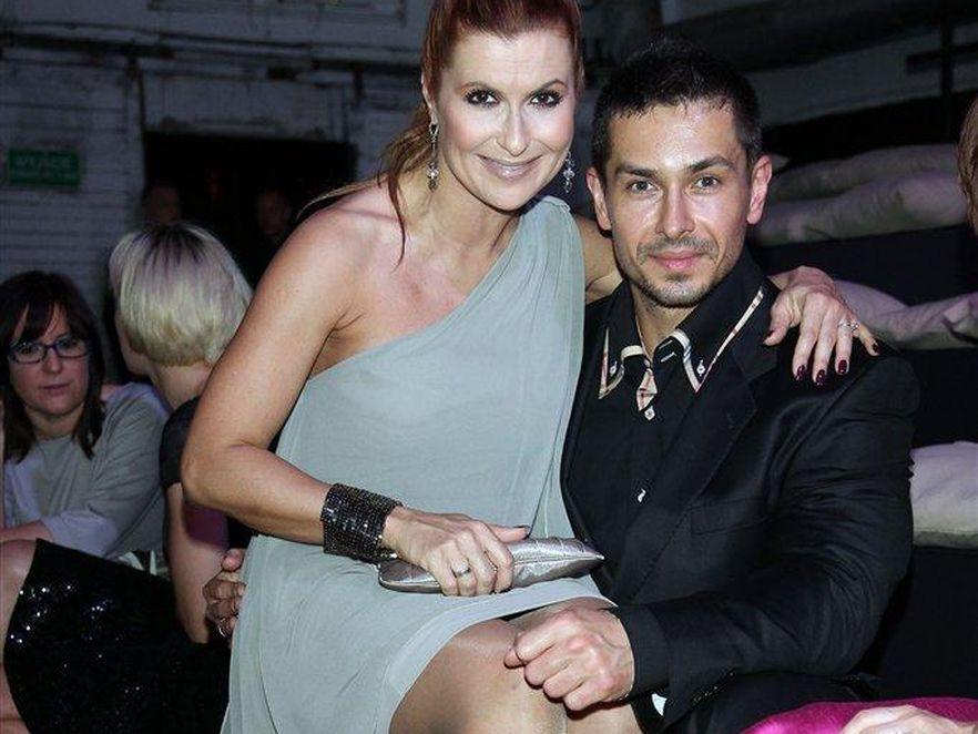 Katarzyna Skrzynecka i jej mąż Marcin Łopucki