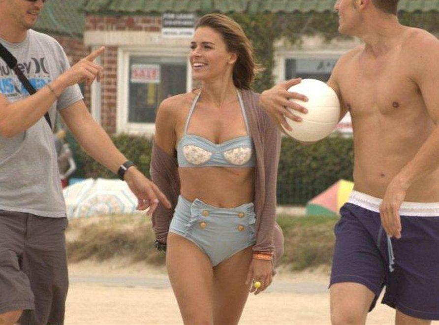 Urbańska w bikini na plaży w Los Angeles!